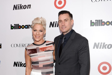 Carey Hart Arrivals at the Billboard's Women in Music Event