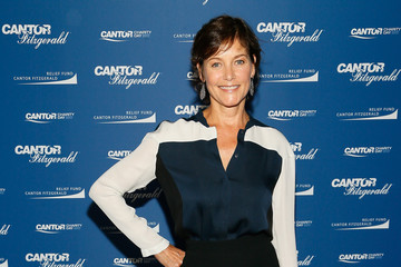 Carey Lowell Annual Charity Day Hosted By Cantor Fitzgerald, BGC and GFI - Cantor Fitzgerald Office - Arrivals