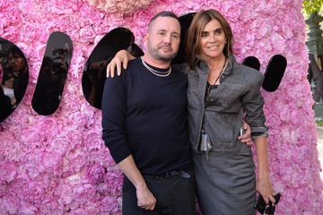 Carine Roitfeld Dior Homme: Photocall - Paris Fashion Week - Menswear Spring/Summer 2019