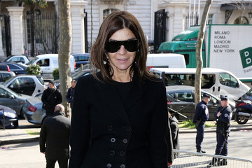 Carine Roitfeld Arrivals at the Miu Miu Show