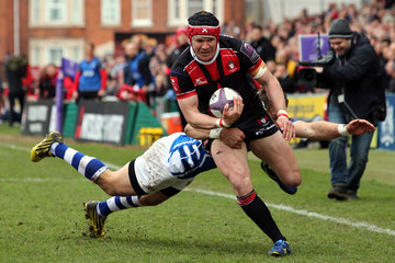 Carl Meyer Gloucester Rugby v Newport Gwent Dragons - European Rugby Challenge Cup Quarter Final