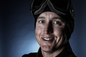 Carl Murphy New Zealand Winter Olympic Portrait Session
