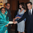 Devisingh Shekkawat Carla Bruni-Sarkozy Visits Children Hospital for Aids
