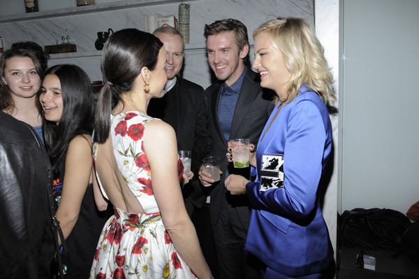 2016 Tribeca Film Festival After Party for the Ticket Sponsored by AKA Hotel Residences at Hotel Americano - 4/16/16 [event,fashion,dress,fun,party,fashion design,smile,carla gugino,dan stevens,malin akerman,ticket,l-r,aka hotel residences,hotel americano,tribeca film festival after party,tribeca film festival,party]