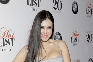 Carla Ortiz Latina's 20th Anniversary Celebrating the Hollywood Hot List Honorees