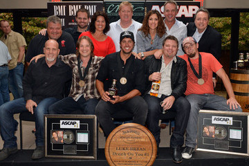 "Carla Wallace BMI # 1 Party For ""Drunk On You"" Performed By Luke Bryan"