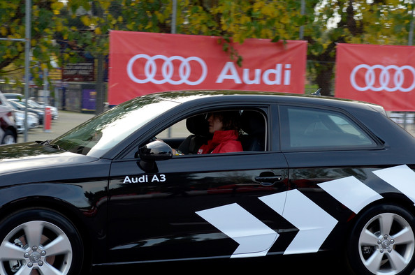 photo of Carles Puyol Audi A3  - car