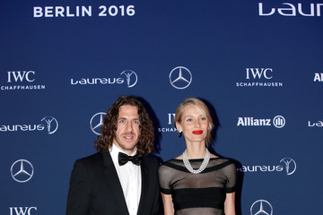 Carles Puyol Red Carpet -  2016 Laureus World Sports Awards - Berlin