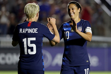 Carli Lloyd United States vs. Mexico: Group A - CONCACAF Women's Championship