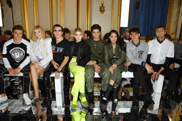 Carlo Sestini Balmain: Front Row - Paris Fashion Week - Menswear Spring/Summer 2019