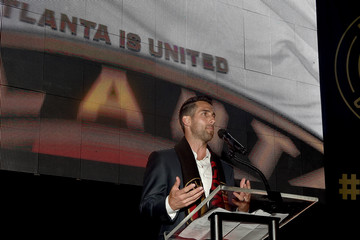 Carlos Bocanegra Guests Attend the MLS Atlanta Launch Event