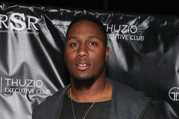 Carlos Dunlap The Thuzio Executive Club and Rosenhaus Sports Representation Party During Super Bowl Weekend