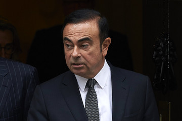 Carlos Ghosn Nissan CEO Carlos Ghosn Leaves 10 Downing Street After Meeting With Prime Minister Theresa May to Discuss Brexit