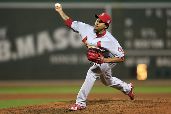 Carlos Martinez - St Louis Cardinals v Boston Red Sox