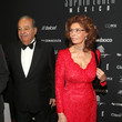 Carlos Slim Helu Sophia Loren's 80th Birthday Celebration At The Museo Soumaya In Mexico City, Mexico