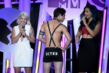 Carly Aquilino Guests Attend the MTV Fandom Awards in San Diego