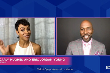 Carly Hughes Eric Jordan Young 2020 Breast Cancer Research Foundation (BCRF) Virtual Symposium & Awards Luncheon