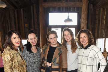 Carly Hugo Glamour's Women Rewriting Hollywood Lunch At Sundance Hosted By Lena Dunham, Jenni Konner And Cindi Leive - 2016 Park City