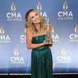 Carly Pearce The 54th Annual CMA Awards - Winners Stop