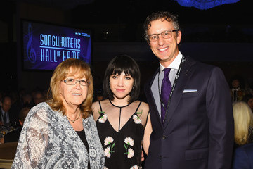Carly Rae Jepsen Celebrities Smile at the Songwriters Hall of Fame 46th Annual Induction and Awards