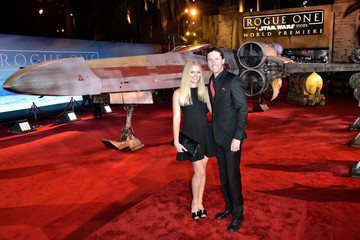 Carly Schroeder The World Premiere of 'Rogue One: A Star Wars Story'