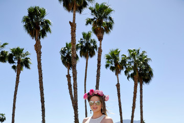 Carly Steel REVOLVE Desert House at Coachella With Moet & Chandon - Day 1
