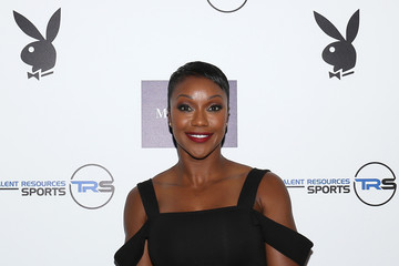 Carmelita Jeter Martell Cognac Hosts Talent Resources Sports Party in Los Angeles, California