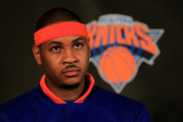 carmelo anthony knicks pictures. Carmelo Anthony The New York