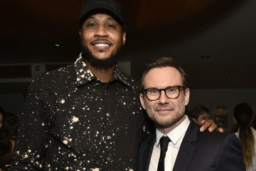 Carmelo Anthony Haute Living and Dior Homme Celebrate Christian Slater at Esther & Carol
