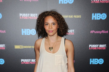 Carmen Ejogo 'Pussy Riot: A Punk Prayer' Screening in NYC