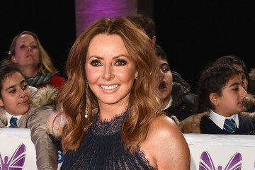 Carol Vorderman Pride Of Britain Awards 2018 - Red Carpet Arrivals