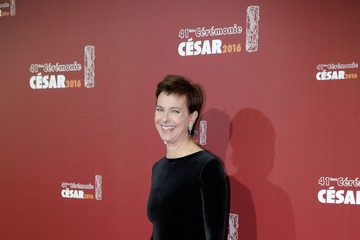 Carole Bouquet Red Carpet Arrivals - Cesar Film Awards 2016 At Theatre du Chatelet