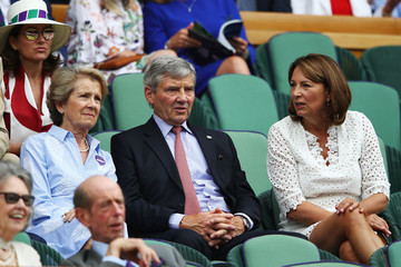 Carole Middleton Day Three: The Championships - Wimbledon 2018