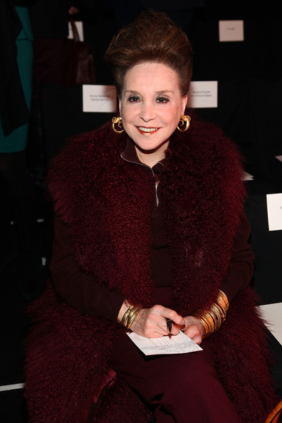 Carolina Herrera - Front Row - Fall 2012 Mercedes-Benz Fashion Week