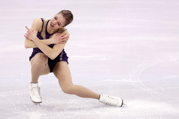 Carolina Kostner Figure Skating - Winter Olympics Day 3