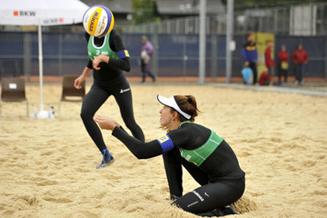 Carolina Solberg Salgado FIVB Gstaad Grand Slam: Day 2