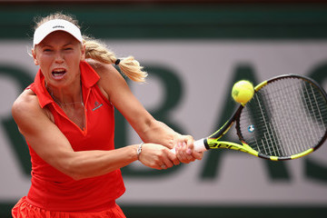 Carolina Wozniacki 2017 French Open - Day Eight