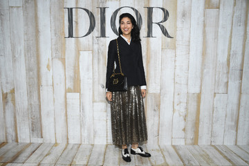 Caroline Issa Christian Dior Couture S/S19 Cruise Collection: Photocall At Grandes Ecuries De Chantilly