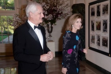 Caroline Kennedy President Obama And First Lady Host State Dinner For Japanese PM Shinzo Abe And Akie Abe