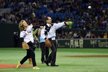 Caroline Kennedy Samurai Japan v MLB All Stars