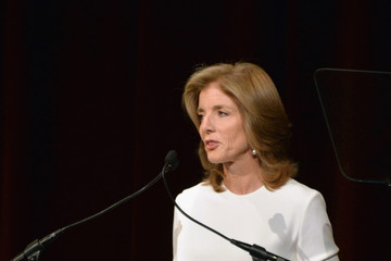 Caroline Kennedy Arrivals at the Calvin Klein Benefit