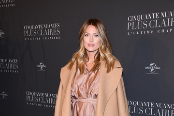 Caroline Receveur 'Fifty Shades Freed' Paris Premiere atSalle Pleyel