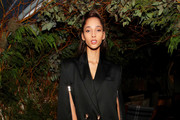 Yasmin Wijnaldum attend Caroline Rush, Julia Restoin Roitfeld and Bloomingdales Celebrate David Koma's 10th Anniversary at The Peninsula Hotel on October 30, 2019 in New York City.