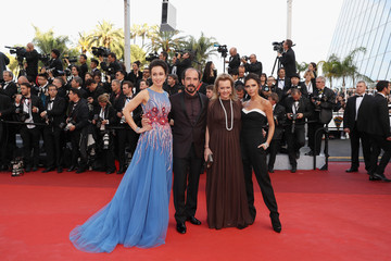 Caroline Scheufele Alexis Veller 'Cafe Society' & Opening Gala - Red Carpet Arrivals - The 69th Annual Cannes Film Festival
