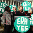 Gwen Moore Carolyn Maloney Holds News Conference On Equal Rights Amendment