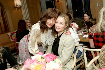 Carolyn Murphy Tabitha Simmons 10 Year Anniversary Dinner At L'Avenue At Saks