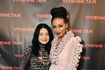 Carra Patterson Vivienne Tam - Backstage - February 2018 - New York Fashion Week: The Shows
