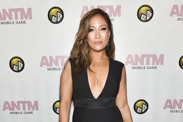 Carrie Ann Inaba Tyra Banks And Ace King Productions Celebrate The Release Of The 'America's Next Top Model' Mobile Game - Red Carpet