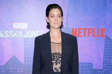 Carrie-Anne Moss 'Jessica Jones' Season 2 New York Premiere