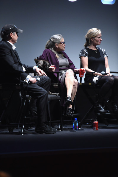 """54th New York Film Festival - """"Bright Lights"""" Intro and Q&A [bright lights,performance,event,music,performing arts,conversation,musician,sitting,games,alexis bloom,intro,todd fisher,carrie fisher,q a,lincoln center,new york city,alice tully hall,new york film festival]"""